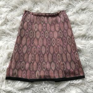 Missoni Spherical Striped Pleated Skirt